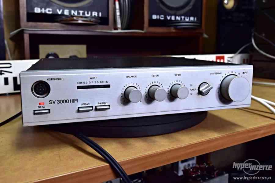 RFT SV 3000 HIFI stereo zesilovač