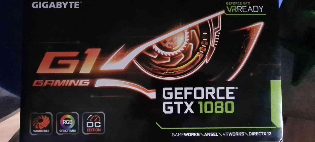 graficka karta gigabyte gtx g1 1080 oc 8 gb