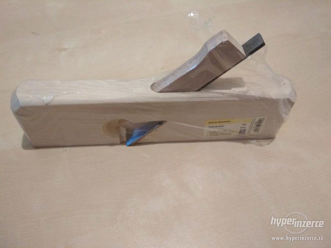 Dřevěný hoblík - foto 1