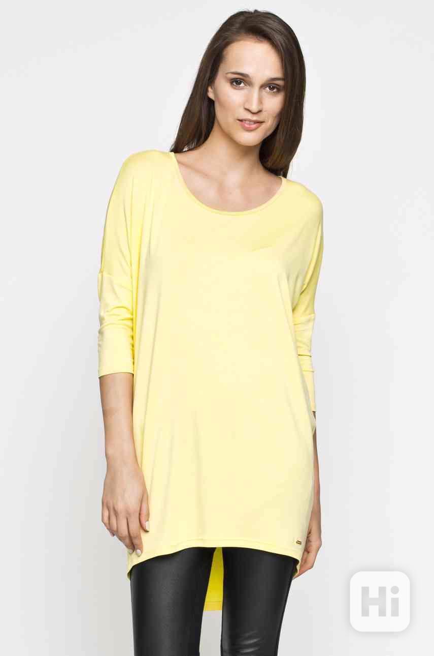 Vanilkově žlutá tunika / šaty Answear - foto 1