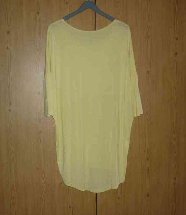 Vanilkově žlutá tunika / šaty Answear - foto 5