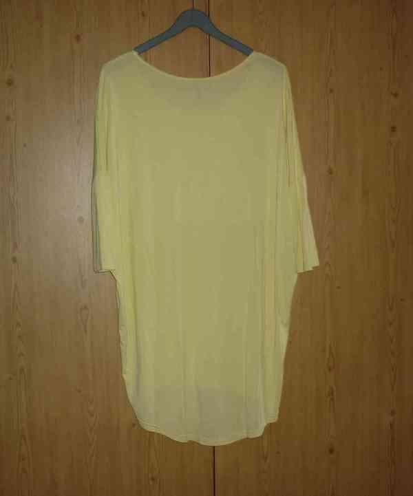 Vanilkově žlutá tunika / šaty Answear - foto 4