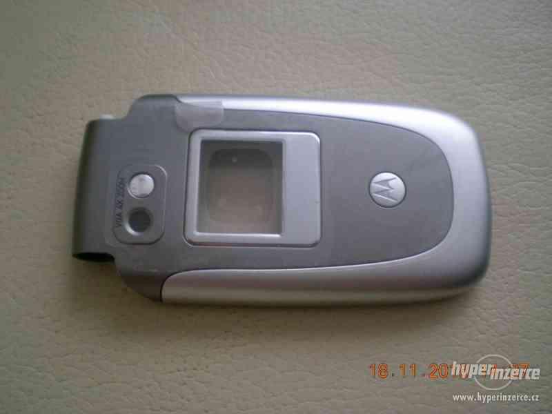 Motorola V360 - vše ORIGINÁL Motorola od 1,-Kč - foto 2