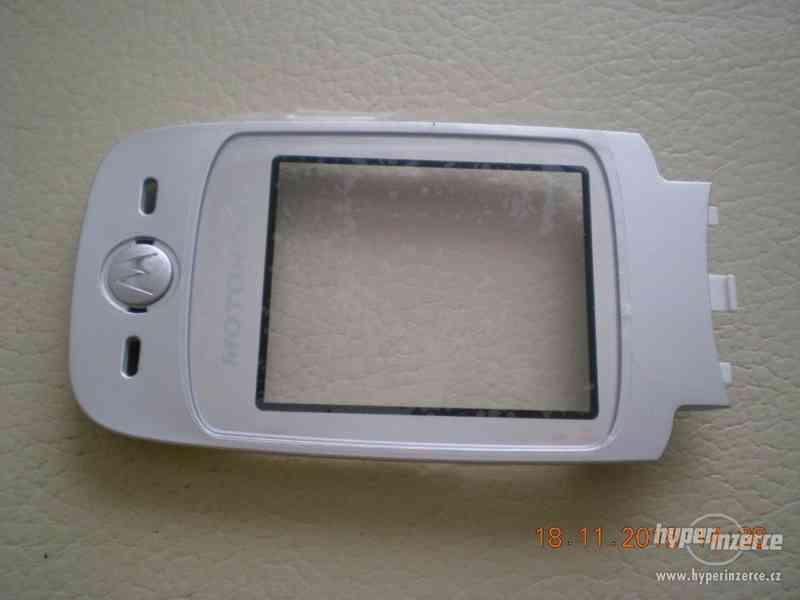 Motorola V360 - vše ORIGINÁL Motorola od 1,-Kč - foto 6