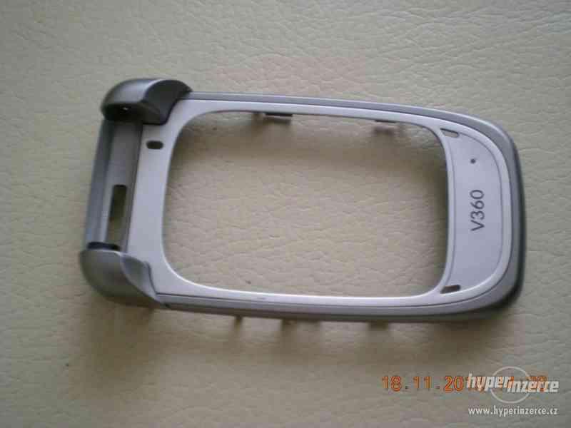 Motorola V360 - vše ORIGINÁL Motorola od 1,-Kč - foto 8