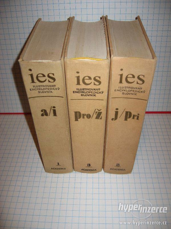 Ilustrovaný encyklopedický slovník ( tři svazky ) - foto 1