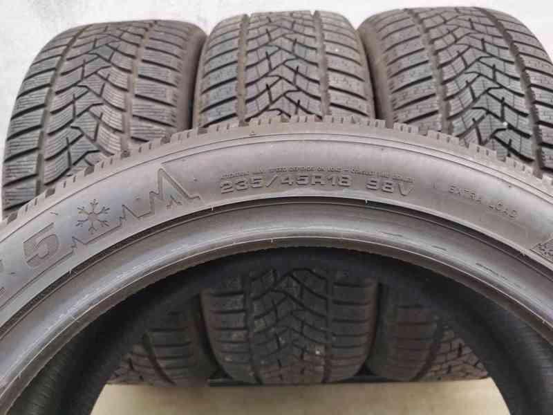 235/45R18 98V Dunlop Winter Sport 5 zimní pneumatiky 9,5mm - foto 8