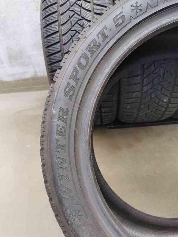 235/45R18 98V Dunlop Winter Sport 5 zimní pneumatiky 9,5mm - foto 9