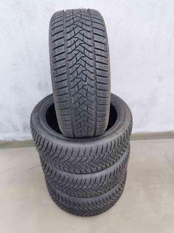 235/45R18 98V Dunlop Winter Sport 5 zimní pneumatiky 9,5mm - foto 10