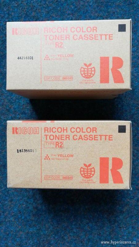 Originální toner Ricoh - Type R2 – 888345 žlutá - foto 1
