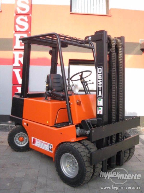 Vysokozdvižný vozík DESTA DVHM 2522 LX - foto 1