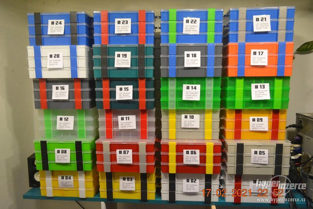 Plastová krabička - organizér 250 x 160 x 45 mm - pro kutily - foto 1