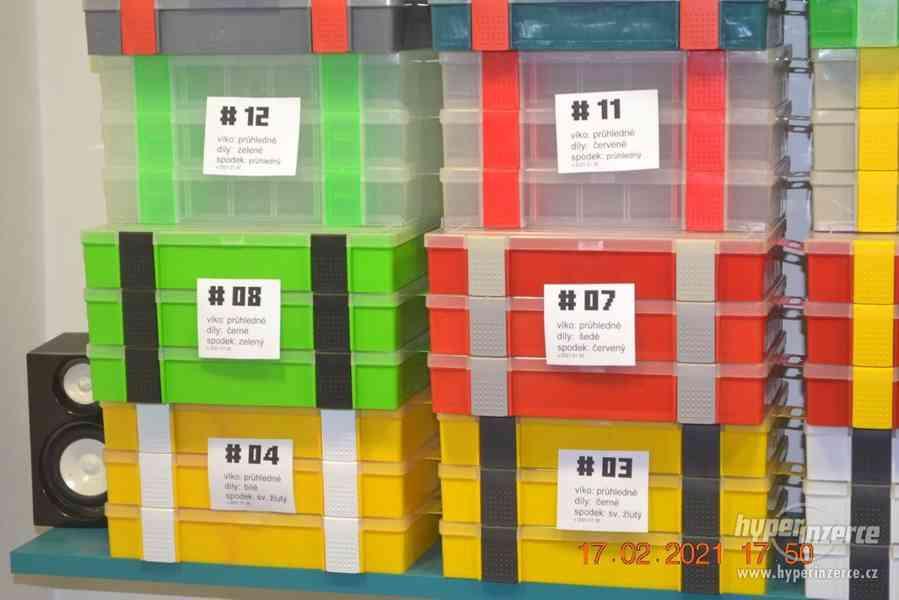 Plastová krabička - organizér 250 x 160 x 45 mm - pro kutily - foto 4