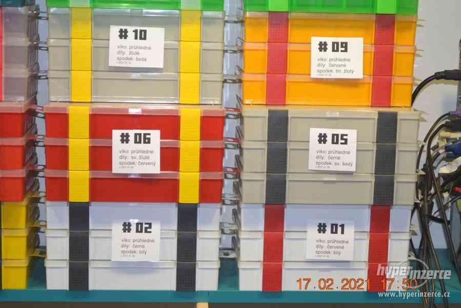 Plastová krabička - organizér 250 x 160 x 45 mm - pro kutily - foto 5