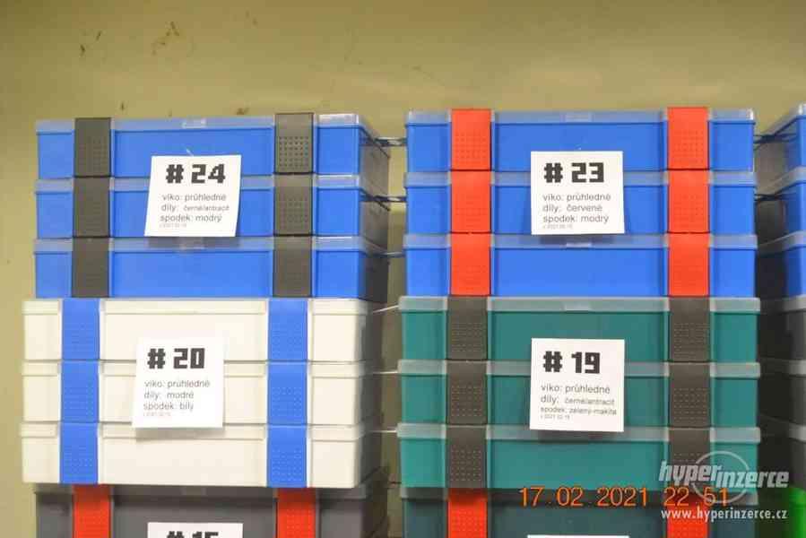 Plastová krabička - organizér 250 x 160 x 45 mm - pro kutily - foto 6