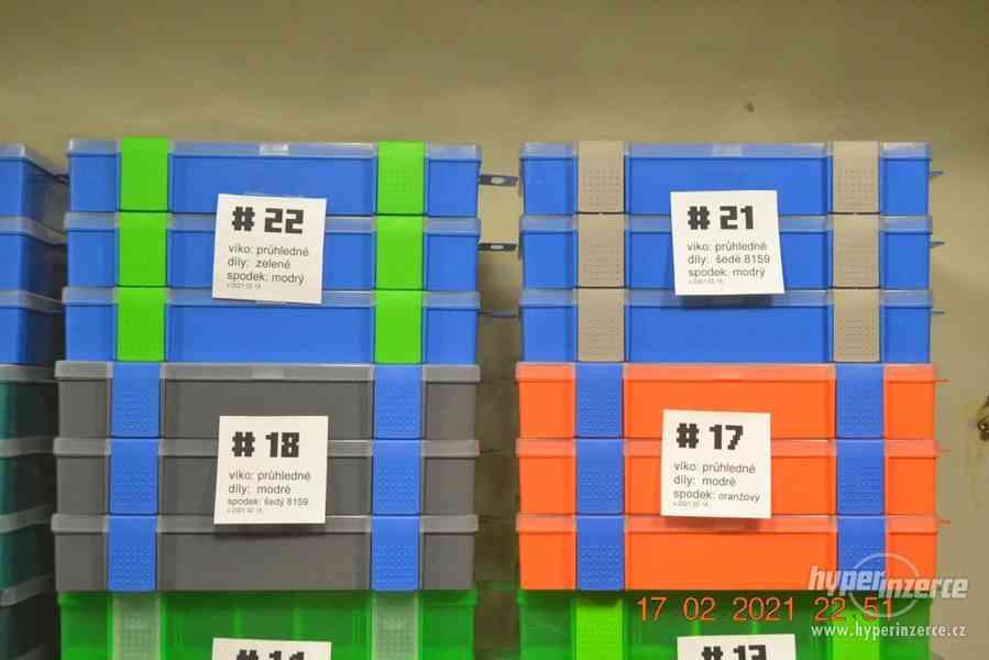 Plastová krabička - organizér 250 x 160 x 45 mm - pro kutily - foto 7