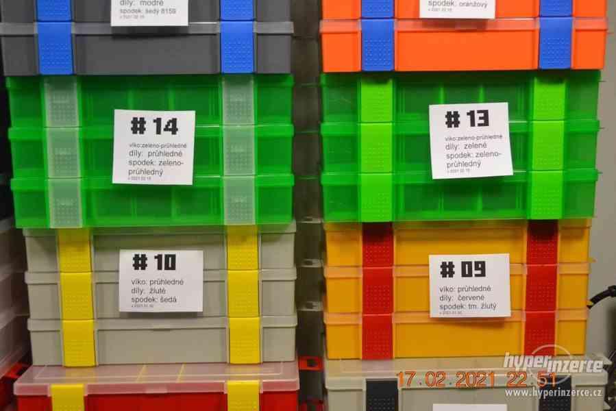 Plastová krabička - organizér 250 x 160 x 45 mm - pro kutily - foto 9