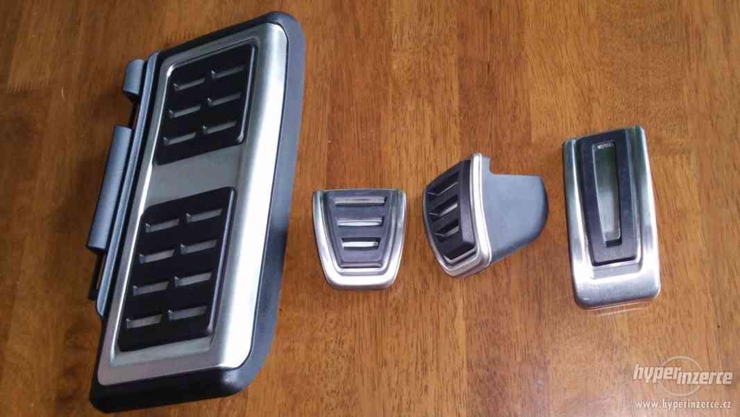 GTI / RS pedály nerez Š. Octavia3 / VW Golf7 Prodám RS / GTI