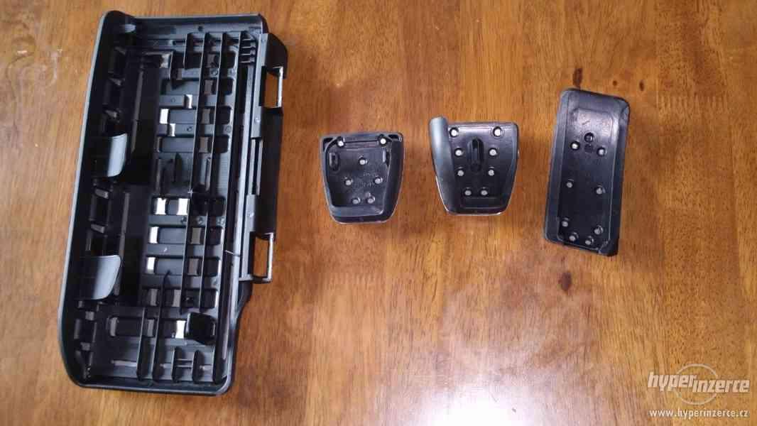 GTI / RS pedály nerez Š. Octavia3 / VW Golf7 Prodám RS / GTI - foto 2
