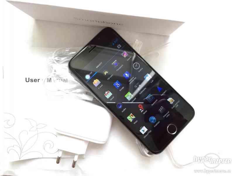 Luxusní Phone6 Quad Core 1.3GHz 13.0 Mpix 1GB RAM dualsim. P - foto 9