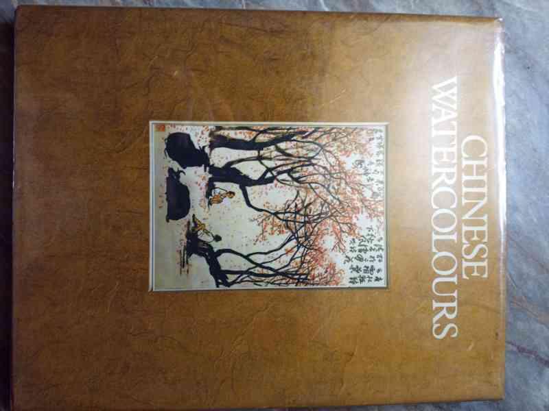 Kniha Chinese watercolours - 1980 - Josef Hejzlar