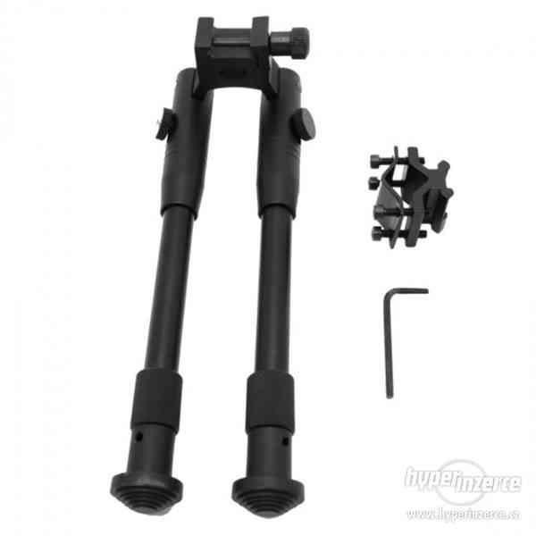 Sklopná střelecká dvojnožka Bipod teleskopická na RIS lištu