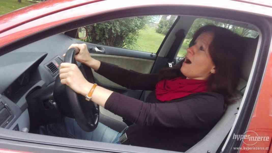 Kondiční jízdy autem pro ženy JEDU SAMA