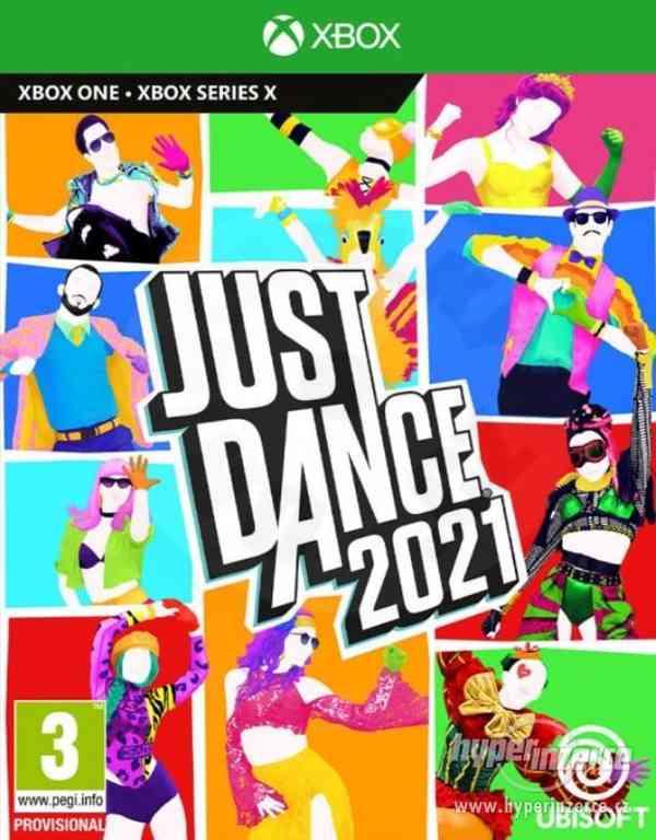 Prodám JUST dance 2021 digitální licence