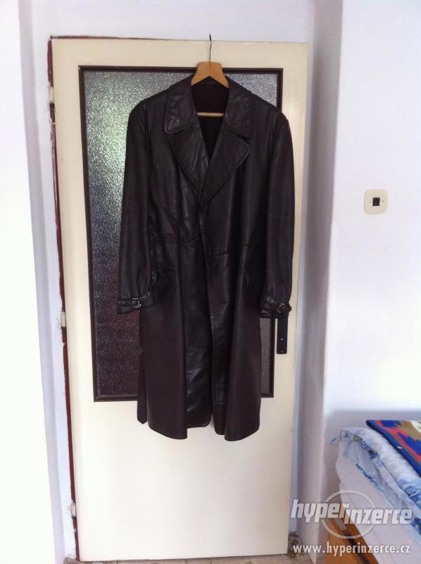 Prodám pánský kožený kabát