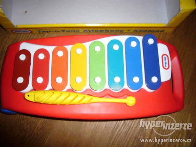 Xylofon zn. Little Tikes (nepoškozený,jako nový,orig.balení) - foto 1