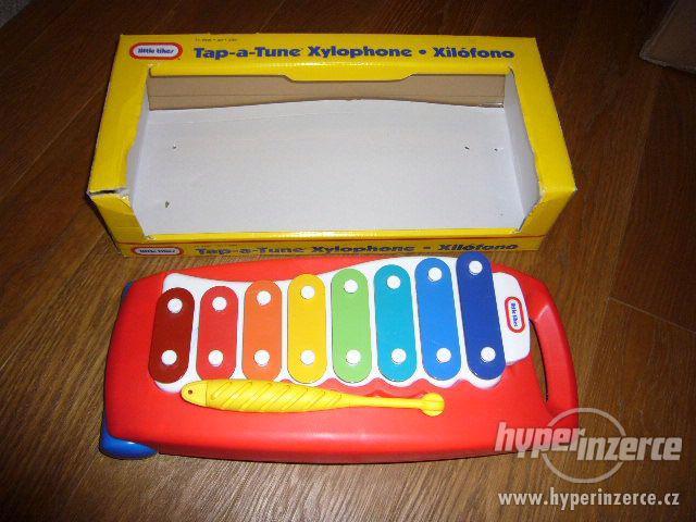 Xylofon zn. Little Tikes (nepoškozený,jako nový,orig.balení) - foto 2