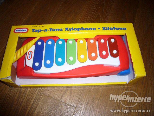 Xylofon zn. Little Tikes (nepoškozený,jako nový,orig.balení) - foto 3