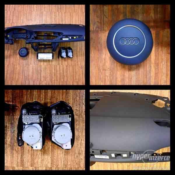 AUDI airbagová sada airbag pásy palubní deska stropní