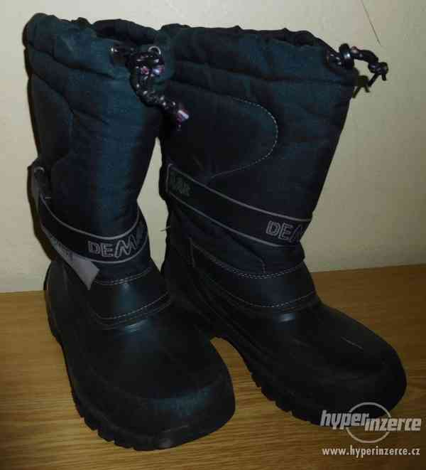 Vekmi kvalitní zimní boty (bufy) vel. 36