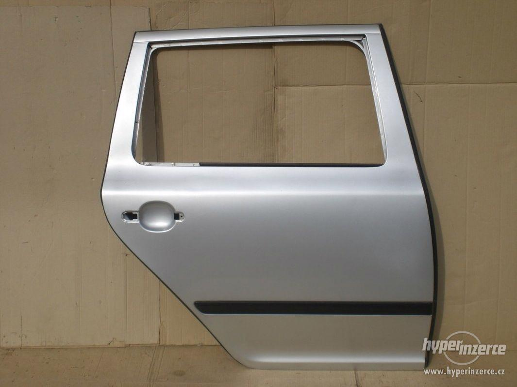 Pravé zadní dveře Škoda Octavia II combi - foto 1