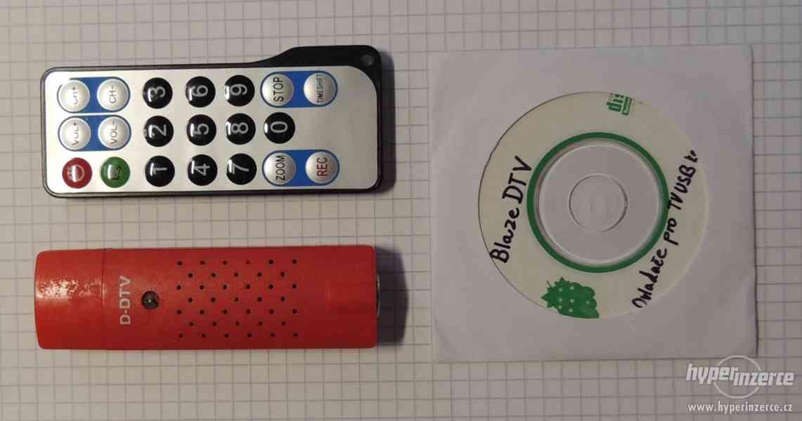 DVB-T USB karta s ovladačem