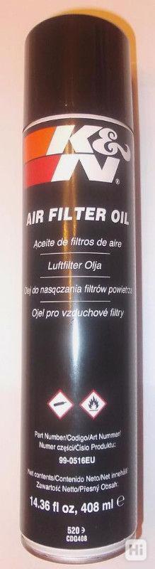 Impregrační olej na vzduchové filtry KN - velký