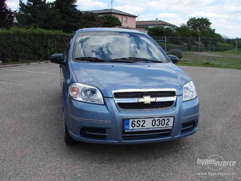 Chevrolet Aveo 1.2i r.v.2007 1.Majitel koupeno v ČR