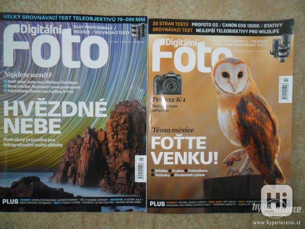 Prodám starší  časopisy Digitální foto aj. - foto 1