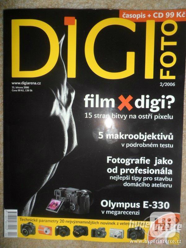 Prodám starší  časopisy Digitální foto aj. - foto 2