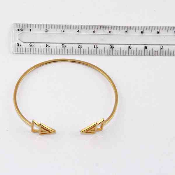 Zoeca - Náramek zlaté barvy Šípka Velikost: OS - foto 3