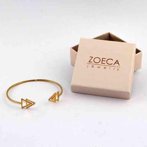 Zoeca - Náramek zlaté barvy Šípka Velikost: OS - foto 2