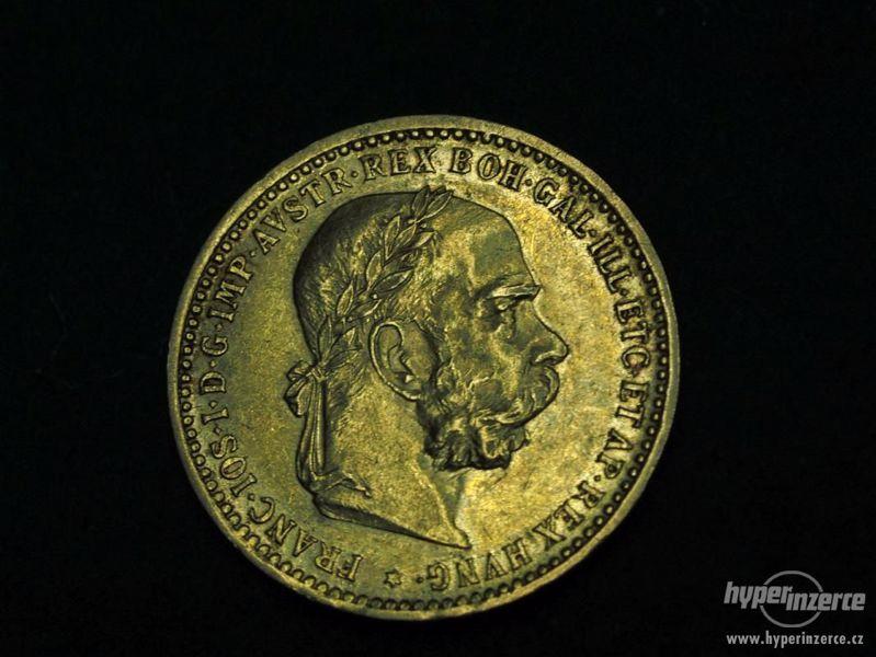 Zlaté mince odkoupím hotově