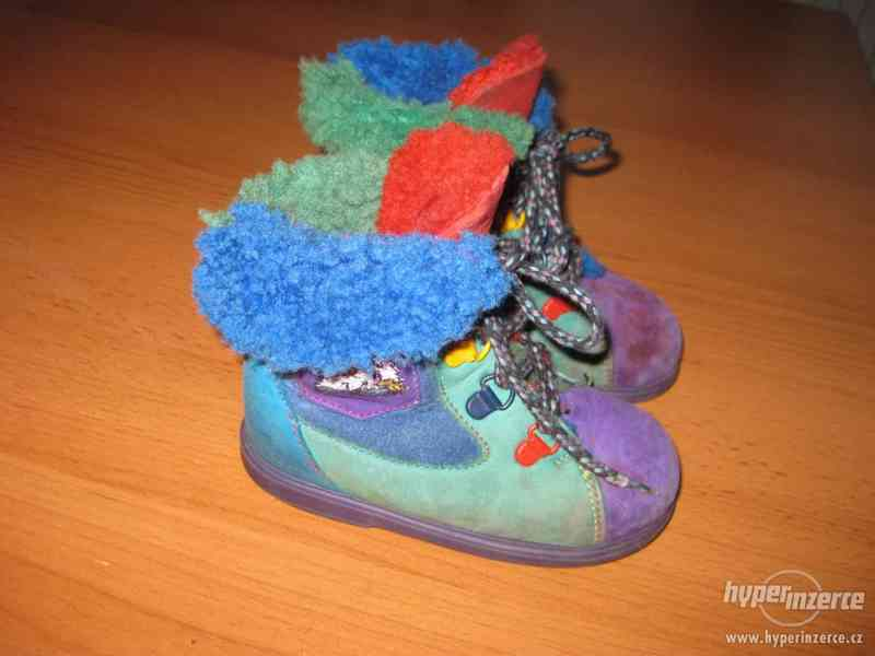 Zimní boty vel.21