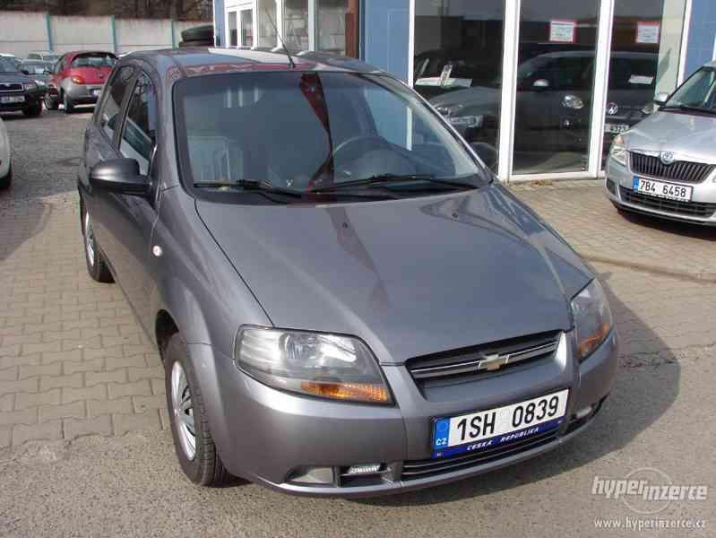 Chevrolet Aveo 1.2i r.v.2007 (koupeno v ČR)
