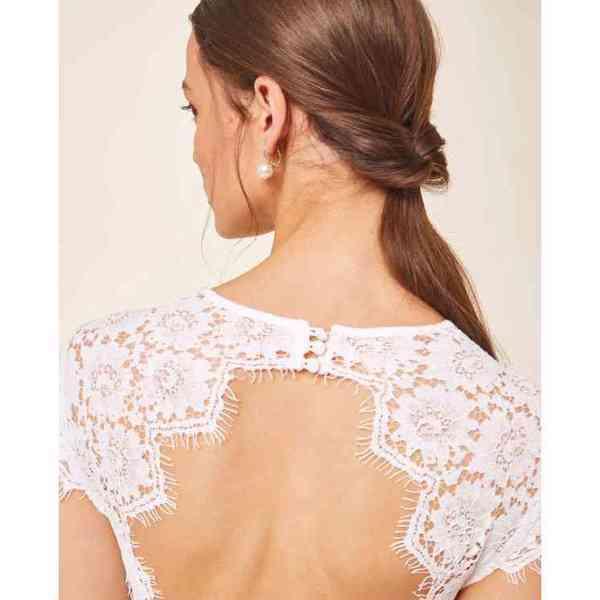 Ivy&Oak - Svatební šaty Lace Velikost: 38 - foto 4