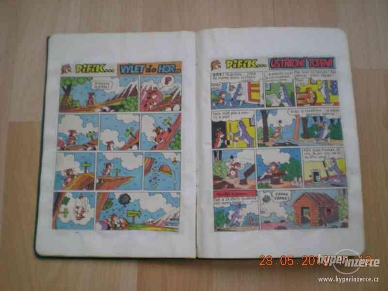 obrázkové komiksy PIF, PIFík, Pepek námořník, Méďa Béďa atd. - foto 3