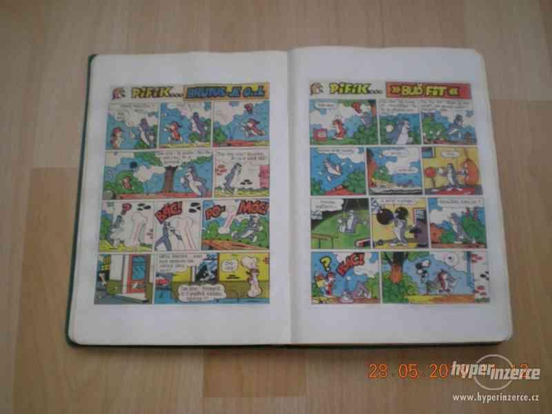 obrázkové komiksy PIF, PIFík, Pepek námořník, Méďa Béďa atd. - foto 4