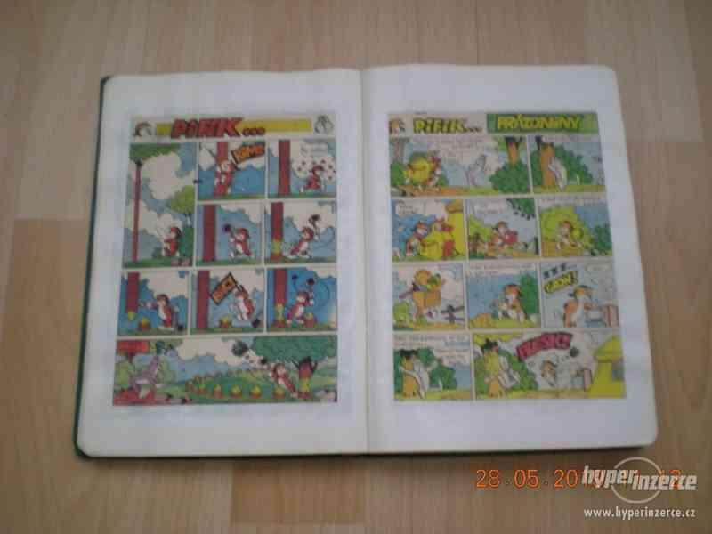 obrázkové komiksy PIF, PIFík, Pepek námořník, Méďa Béďa atd. - foto 5