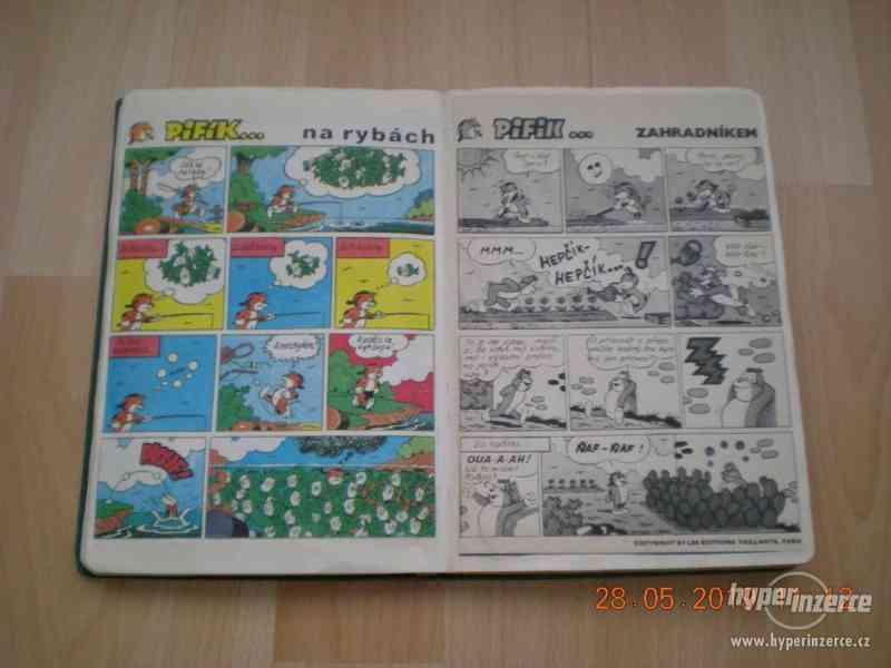obrázkové komiksy PIF, PIFík, Pepek námořník, Méďa Béďa atd. - foto 6
